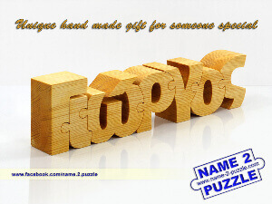 name 2 puzzle personalized wooden name puzzles and pen holders